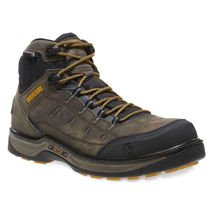 Wolverine Edge LX EPX CarbonMax Men's Waterproof Work Boots, Size: medium (10.5), Med Beige