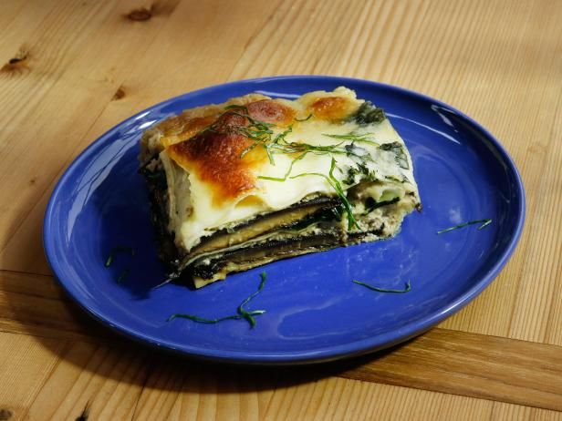 Get Stuffed Mushroom Lasagna Recipe from Food Network