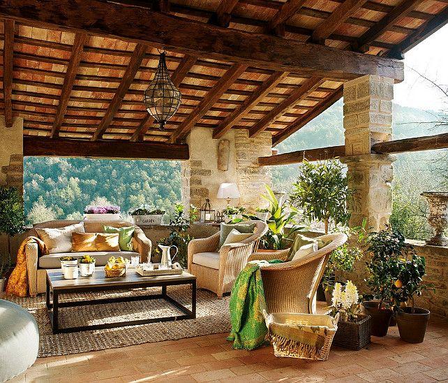 164 best immagini saloni piano terra images on pinterest for Disegni cottage portico anteriore