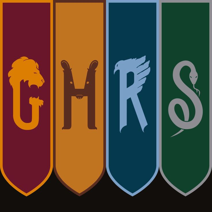 New Hogwarts House banners from The Cursed Child