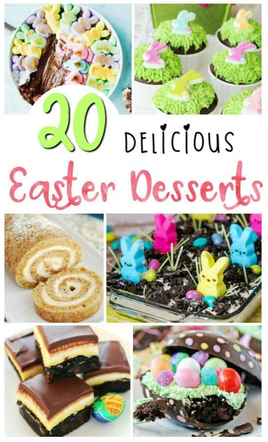 If you're looking for some cute Easter dessert recipes, you'll love thes…   – Easter