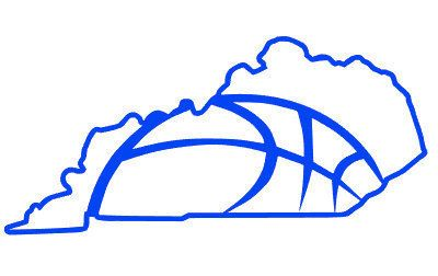 Kentucky Basketball State Outline Digital Cut by AllAboutDigital