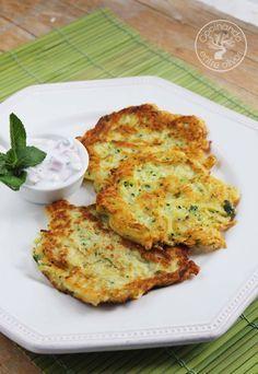 Cocinando entre Olivos: Tortitas de calabacín. Receta paso a paso.