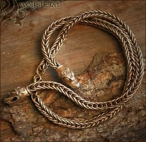Bronze Viking Necklace