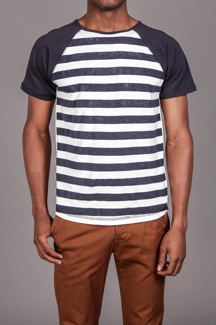 Striped Raglan Shirt / by Soul Star