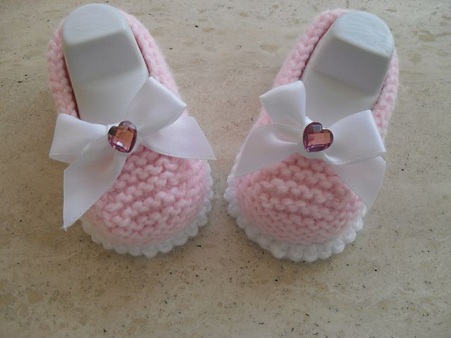 1283 Best Baby Booties Images On Pinterest Baby Knitting Baby