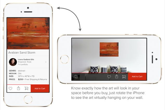 Vango Art App - An app that makes it easy to find original artwork for your home!