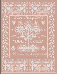 Wedding - Cross Stitch Pattern