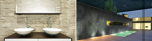 Cladding panels with stone exterior - The possibilities are endless!