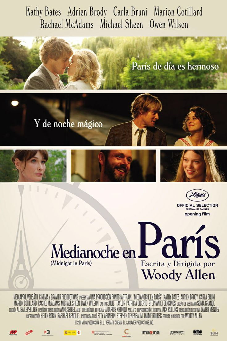 Media noche en París