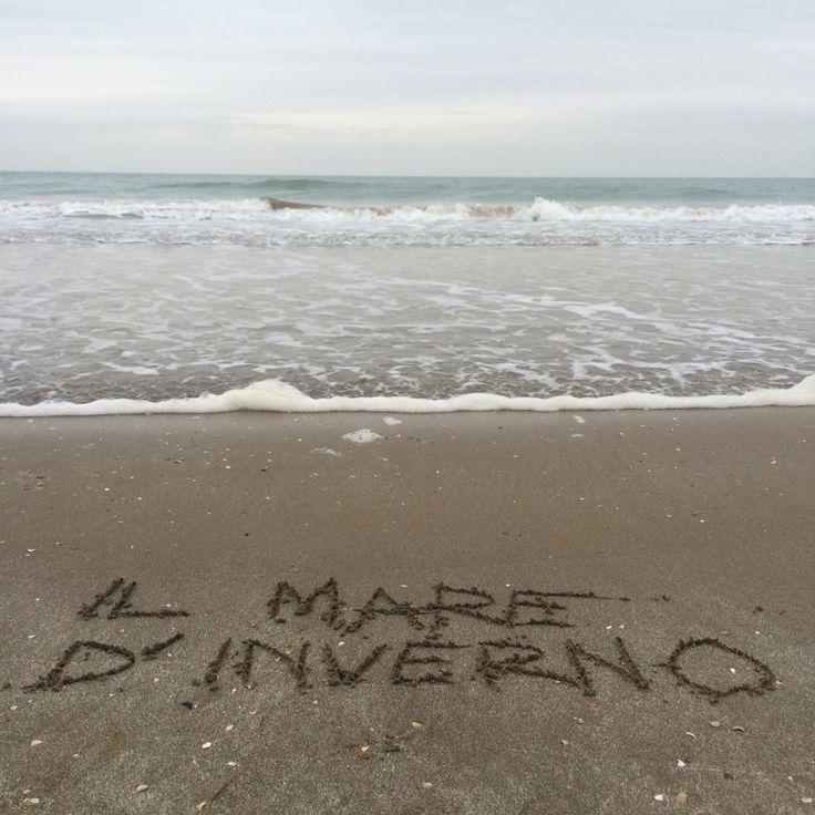 Il mare d'inverno Winter sea  #bagnicarlotta #liguria