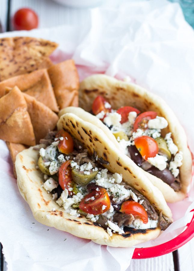 These Greek Gyros are a cinch to make.