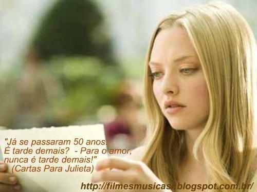 Frases de Filmes, Frases de Musicas, Filmes Online, Filmes Românticos e muito mais...http://filmesmusicasr.blogspot.com.br/