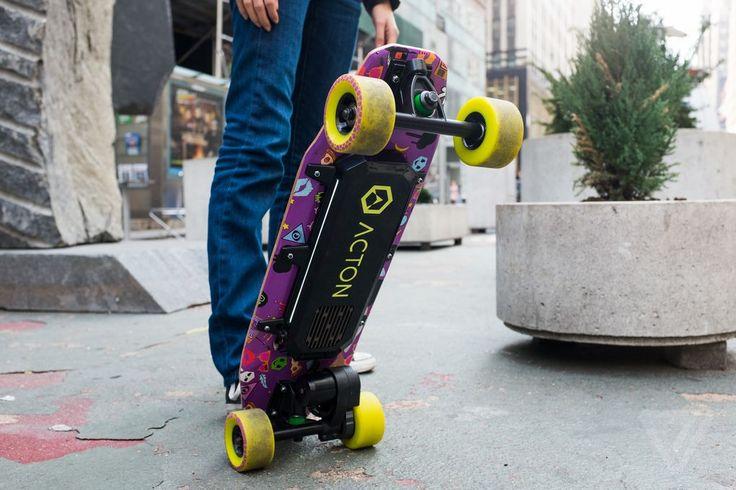 Acton BlinkBoard electric skateboard                                                                                                                                                                                 More