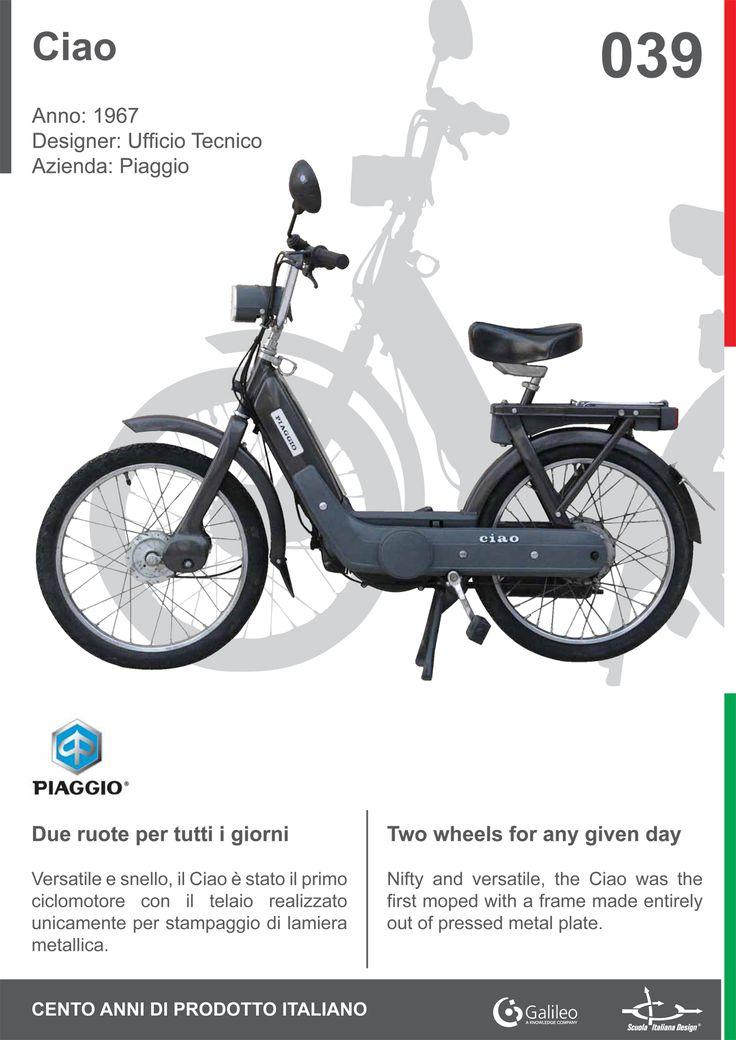 Ciao by Piaggio (1967) #Italian #design #history #motorbike