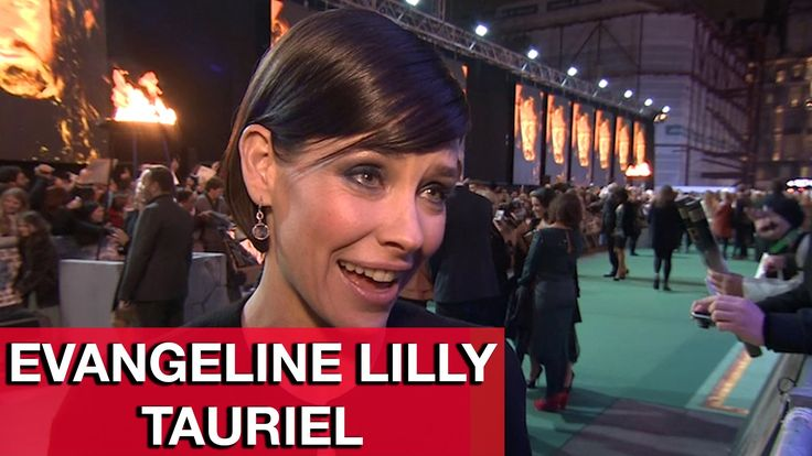 The Hobbit 3: Tauriel Evangeline Lilly Interview - The Battle of the Fiv...