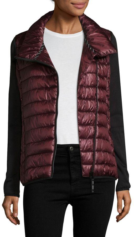 Marc New York Performance Metallic Packable Jacket