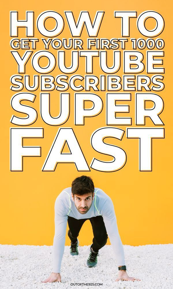 This Is How To Get Your First 1000 Youtube Subscribers Fast Youtube Subscribers Youtube Marketing Strategy Youtube Marketing