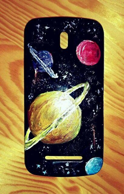 Galaxy phonecase / Etui na telefon - kosmos