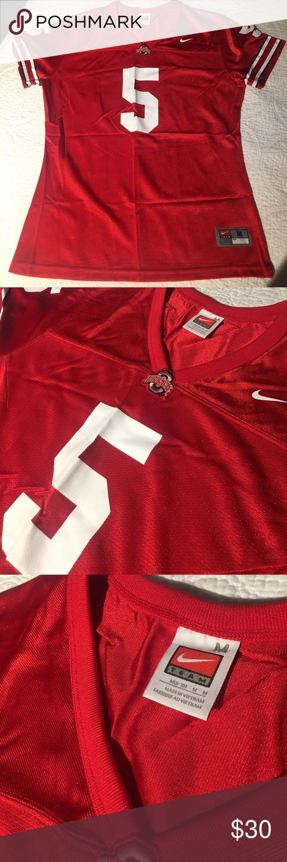 Nike Ohio State football jersey. Womens. Size M. Nike Womens Ohio State University football jersey. Size M. Excellent condition. Nike Other