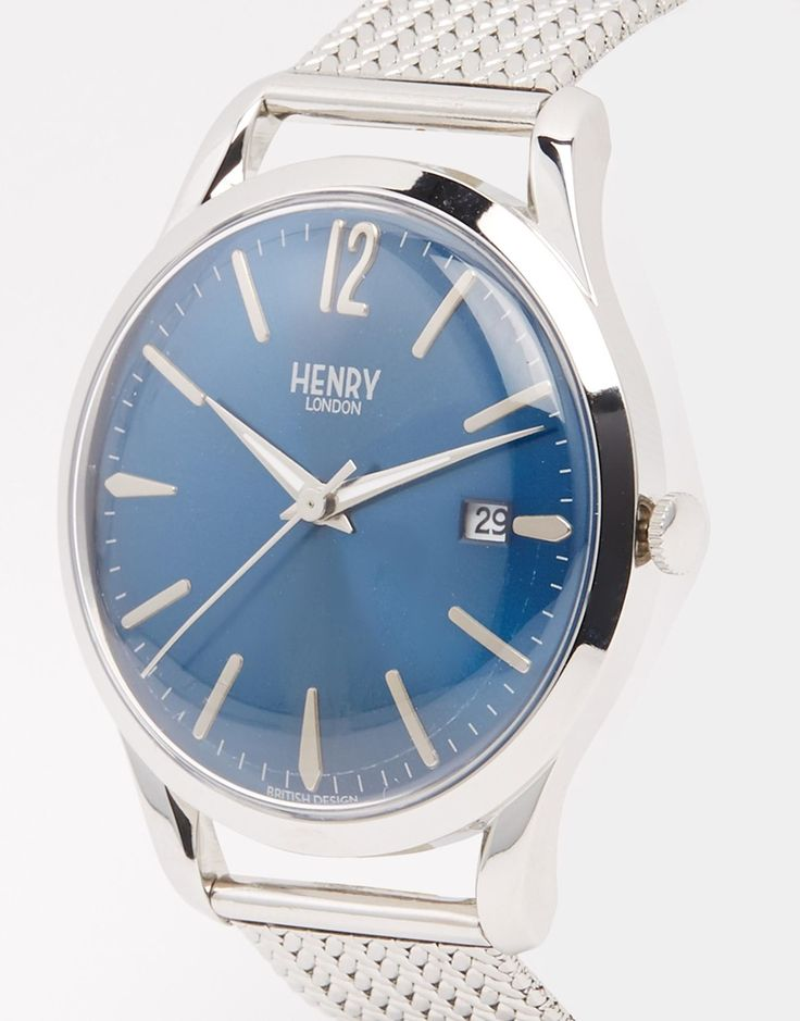 Image 2 - Henry London - Knightsbridge - Montre en acier inoxydable