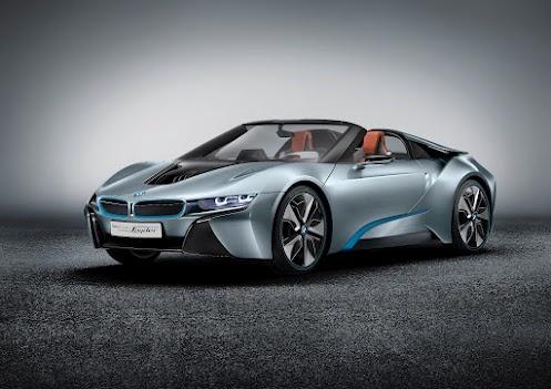 BMW i8 Concept Spyder!