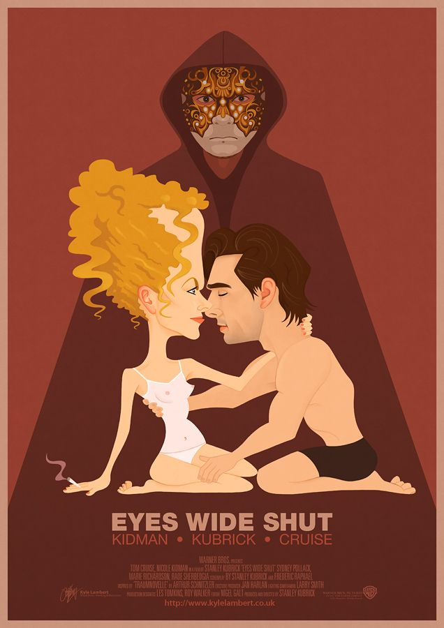 NEW! Eyes Wide Shut - Illustrated Poster