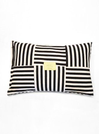 Striped Pillow | HEEL home COLLECTION : HEEL Athens Lab