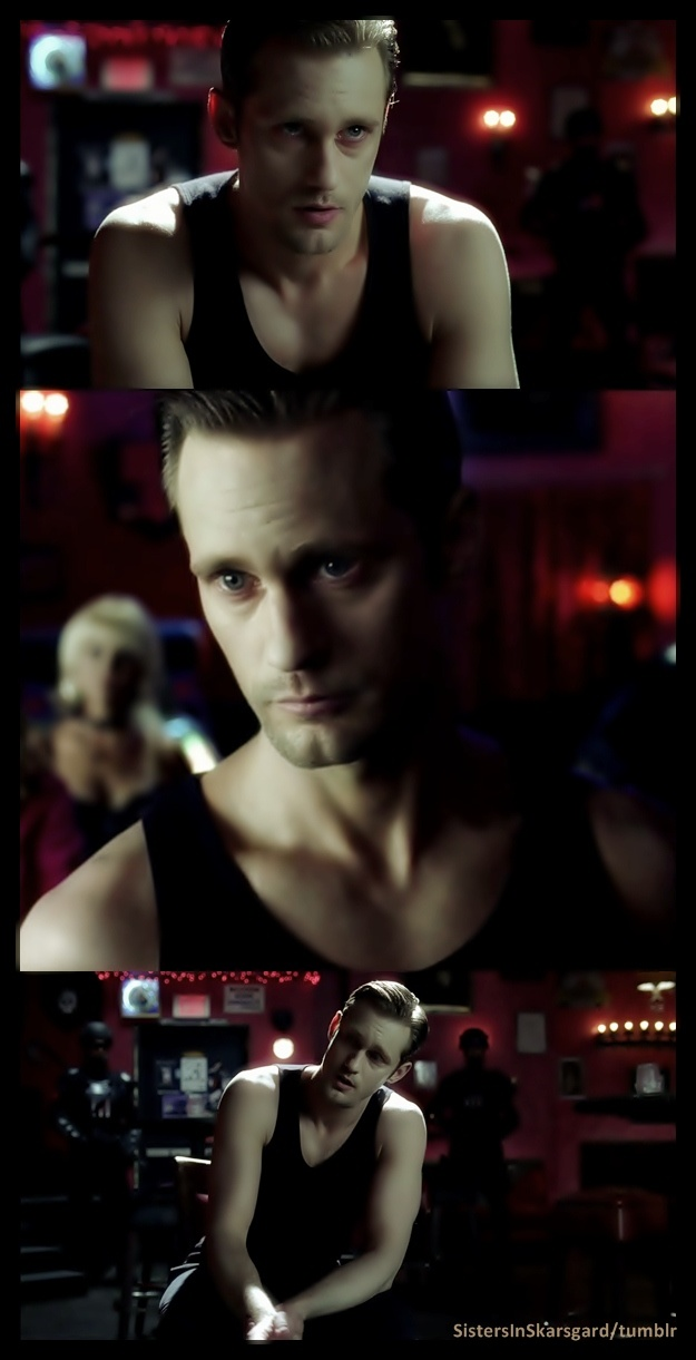 True Blood - Eric Northman - Black tank top porn   The only real reason to watch True Blood....