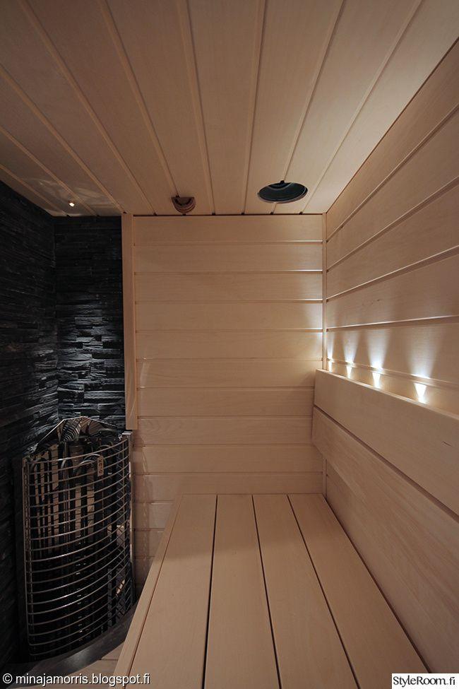 sauna,saunan lauteet,vaalea sauna,kiuas,kylpyhuone