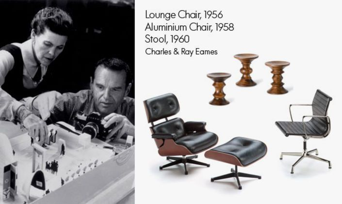 The creations of Charles & Ray Eames have set milestones in the history of furniture design. Some pieces are also available as miniatures.