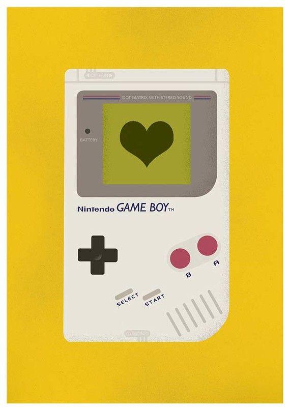 Pépinière art impression Nintendo art tirage poster jeu par handz