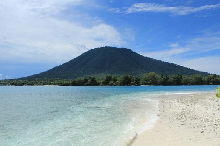 Pulau Umang in Lampung, Indonesia