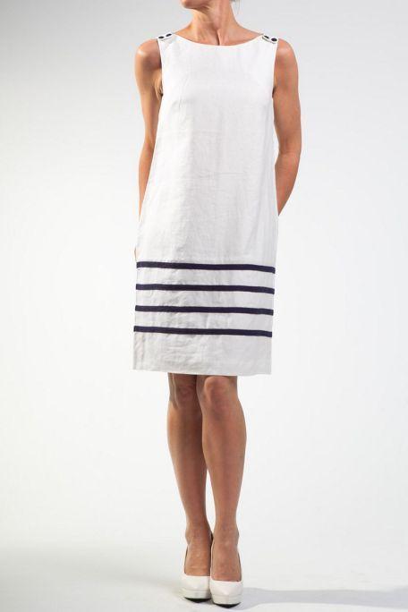 78e2c33b2f2 White linen dresses great plains white corrine linen shift dress ...