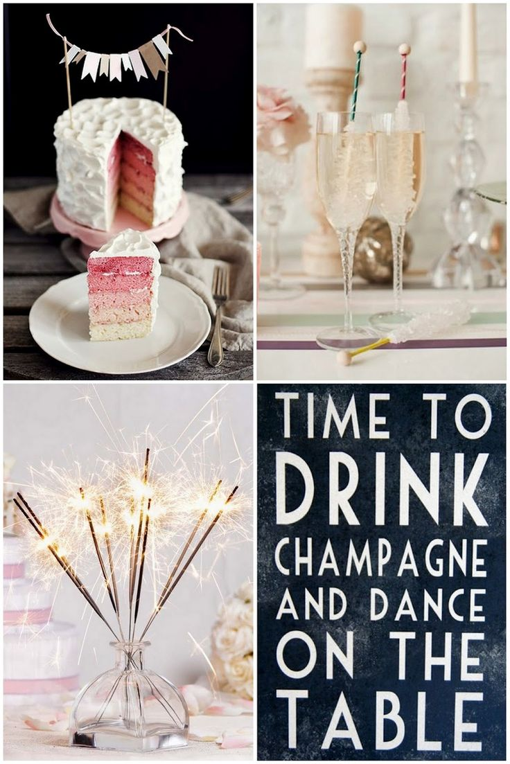 SMITTEN...in cleveland: Time To Drink Champagne & Dance On The Table