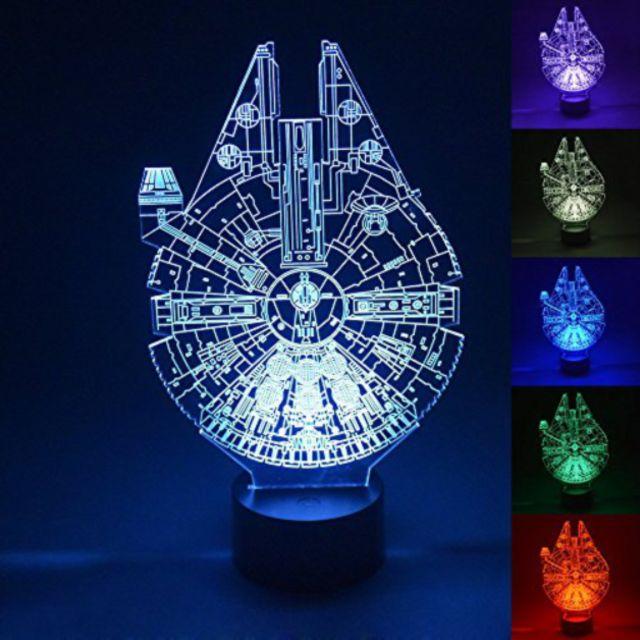 Star Wars Millennium Falcon 3D LED Night LIght