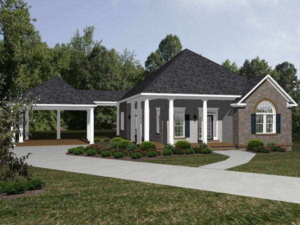 Foxbridge Ranch Home Breezeway Ranch Homes And Drawings