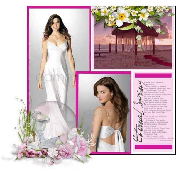 Wedding dress: http://www.dameo.de/strand-a-linie-aussen-rueckenfreies-bodenlanges-glamouroeses-dramatisches-simples-brautkleid-p97.html  Sandals: http://www.dameo.de/d541/satin-strass-stiletto-peep-toe-braut-sandalen-p290241467.html