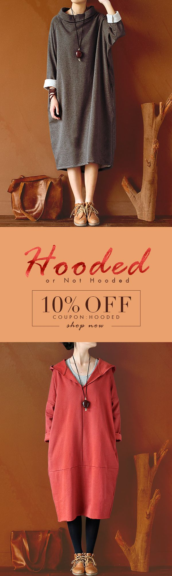 [Fall Fashion] Shop with us, grab the coupon and enjoy extra 10% OFF discount