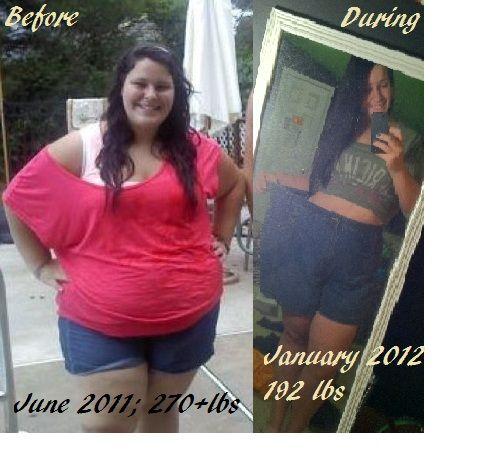 80 pound weight loss transformation pics