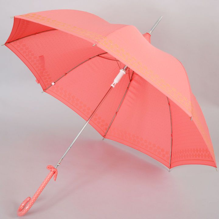 lisbeth dahl pagoda umbrella in coral and gold umbrellas. Black Bedroom Furniture Sets. Home Design Ideas