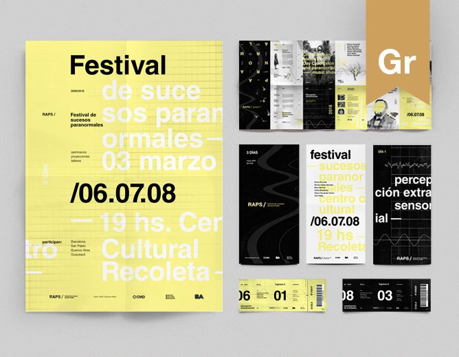 "Check out this @Behance project: ""RAPS / Festival de Sucesos Paranormales - Brand"" https://www.behance.net/gallery/32475261/RAPS-Festival-de-Sucesos-Paranormales-Brand"