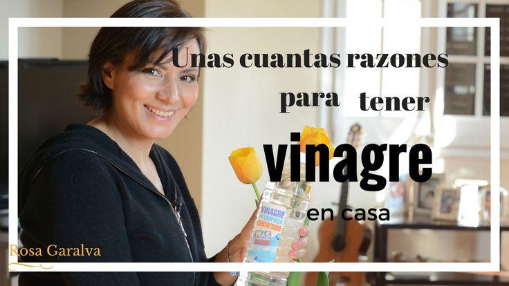 Usos del vinagre, limpieza natural