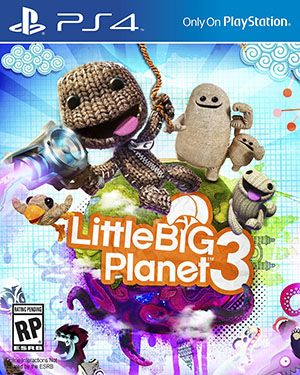 Little Big Planet 3 - Introducing Swoop, OddSock, Toggle, and of course Sackboy! Fly, pound, and speed your way through levels like never before. (PS4, Wii U)