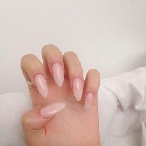 Ecbasket Acrylic Nail Tips Natural Fake Nails Short Oval: 1000+ Ideas About Natural Looking Acrylic Nails On