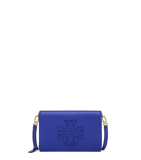 Tory Burch Harper Flat Wallet Cross-body