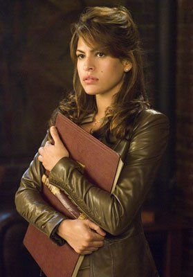 "Eva Mendes as Roxanne Simpson in ""Ghost Rider"" (2007)"