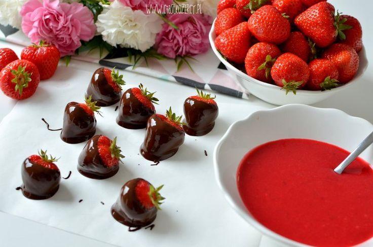 Tort truskawkowy / Strawberry cake