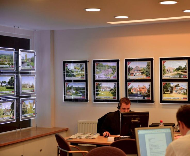 26 best real estate window display images on pinterest for Office window ideas