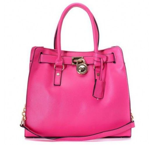 Michael Kors Saffiano Leather Large Pink Totes [mk_0715]